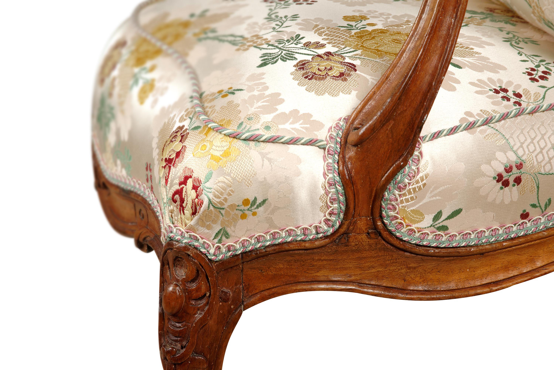 paire de fauteuils Louis XV lyon