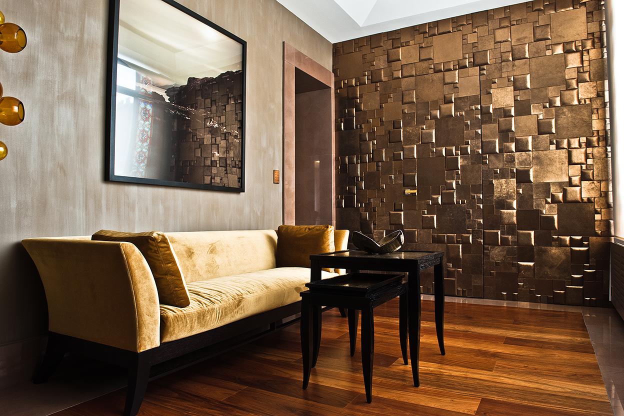 mur de cuir