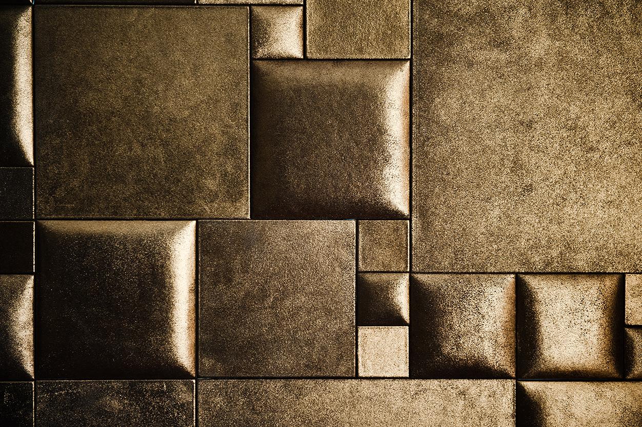décoration de mur de cuir