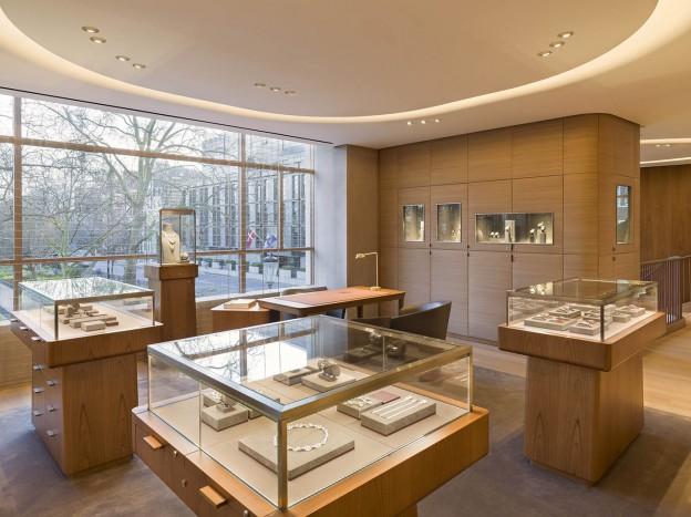 architecture intérieur boutique à Londres